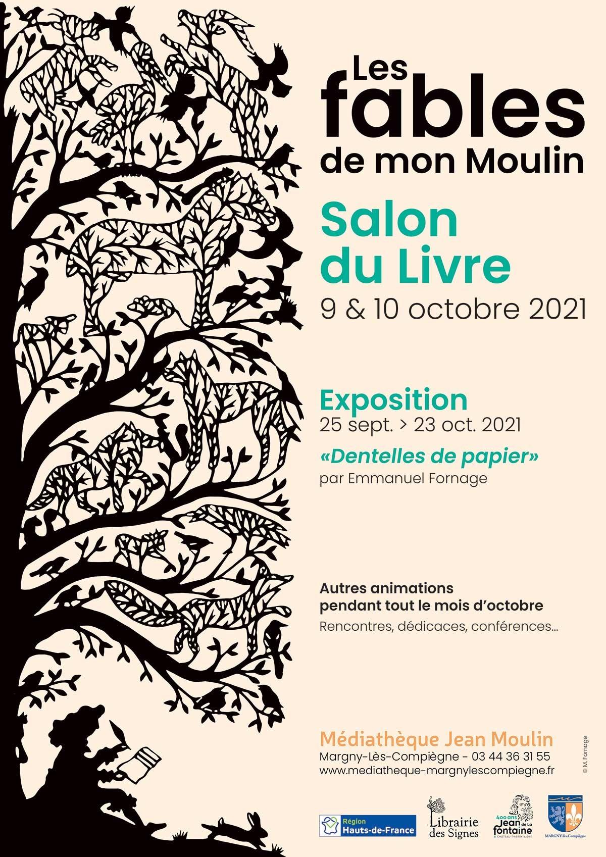 """Salon du Livre """"Les Fables de mon moulin"""""""